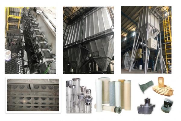 工業鍋爐尾氣防治設備-袋式集塵機
